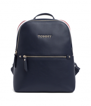 4b1a54bc8b aw0aw06822-413TOMMY HILFIGER Corporate Signature Backpack - Tommy Navy