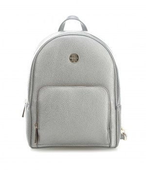 aw0aw06111-055TOMMY HILFIGER Core Backpack - Metallic Silver 595a5852783